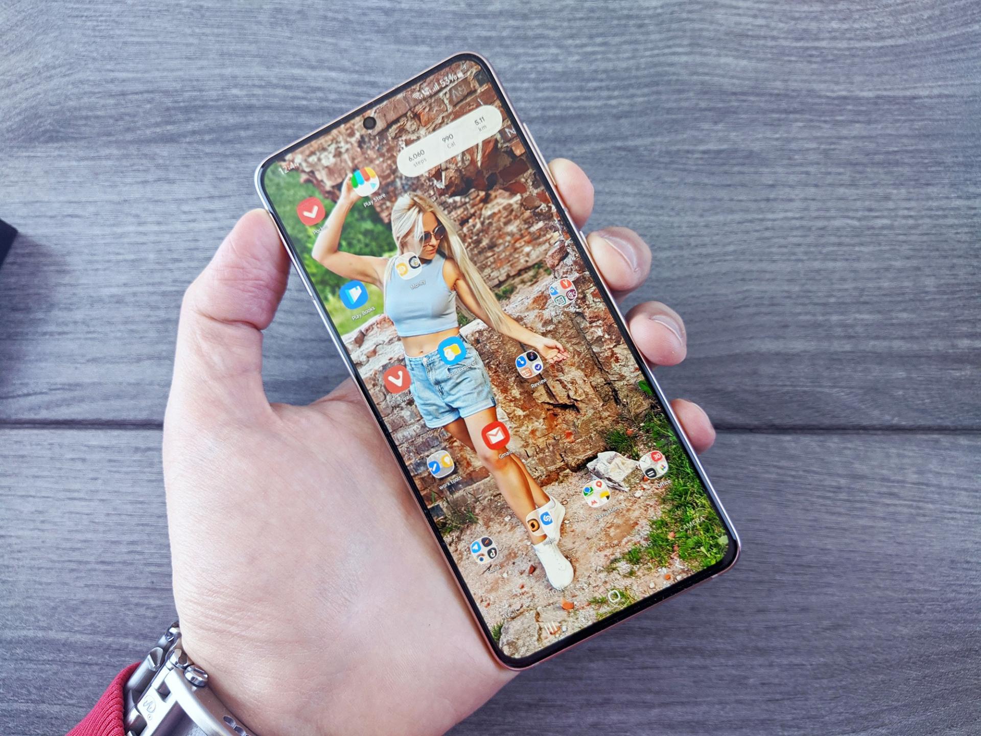 Как сделать скриншот экрана наSamsung Galaxy S21