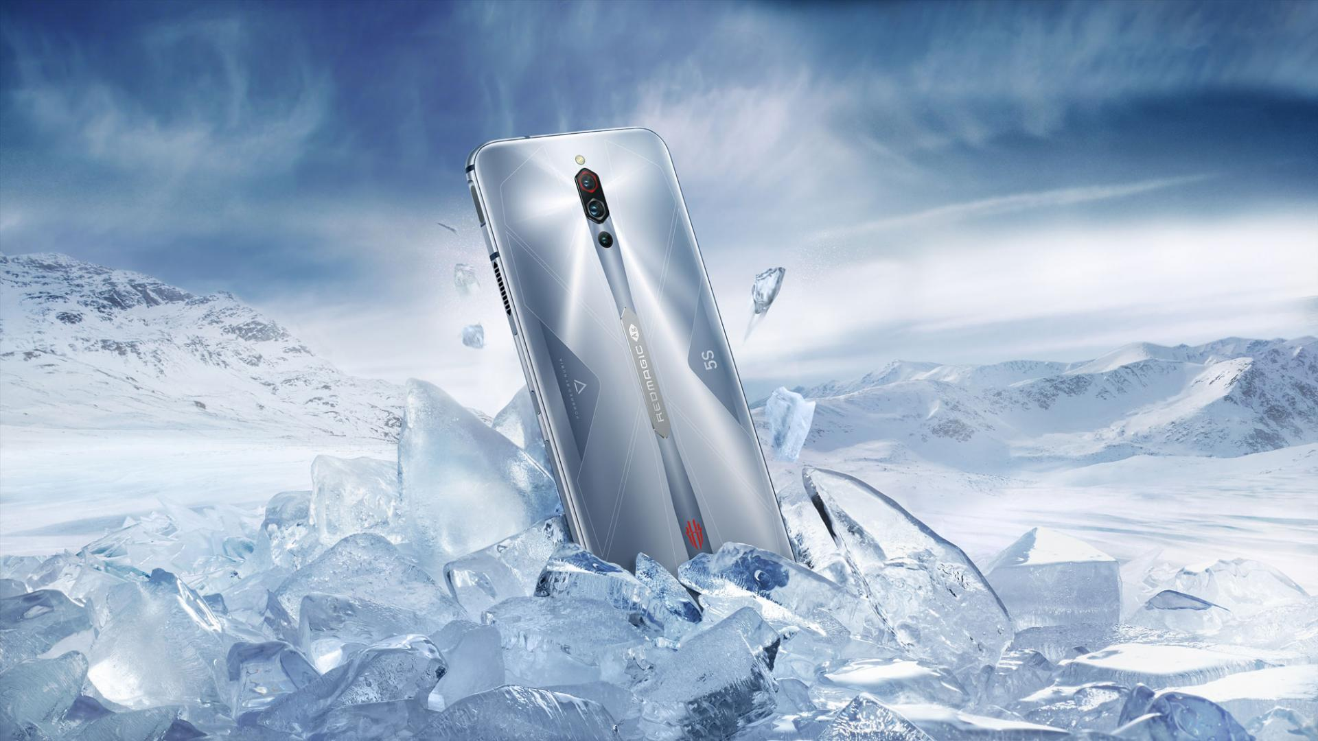 Смартфон RedMagic 5s отZTE: специальная цена иподарки для покупателей