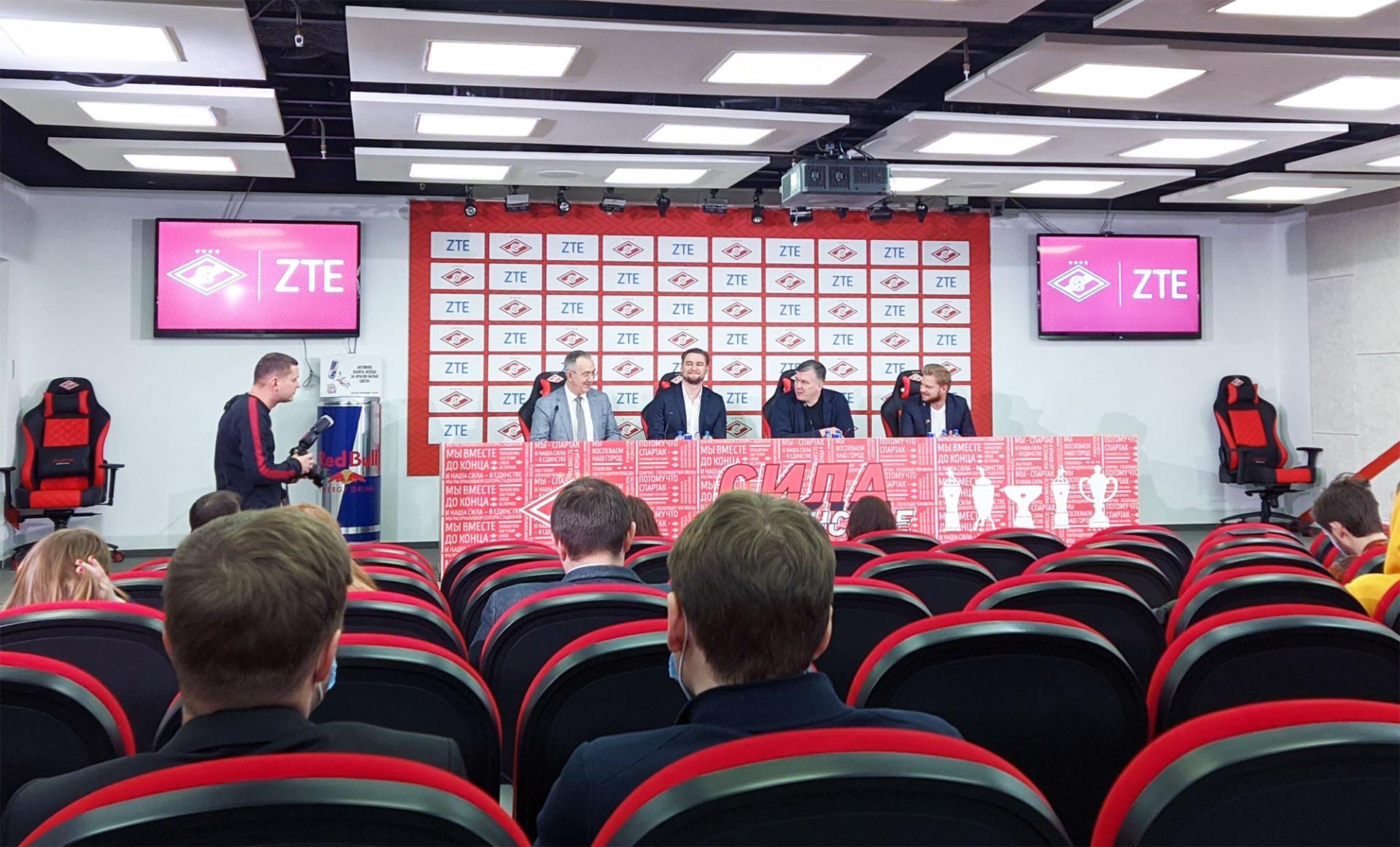 ZTE и ФК Спартак-Москва вместе минимум до 2022 года
