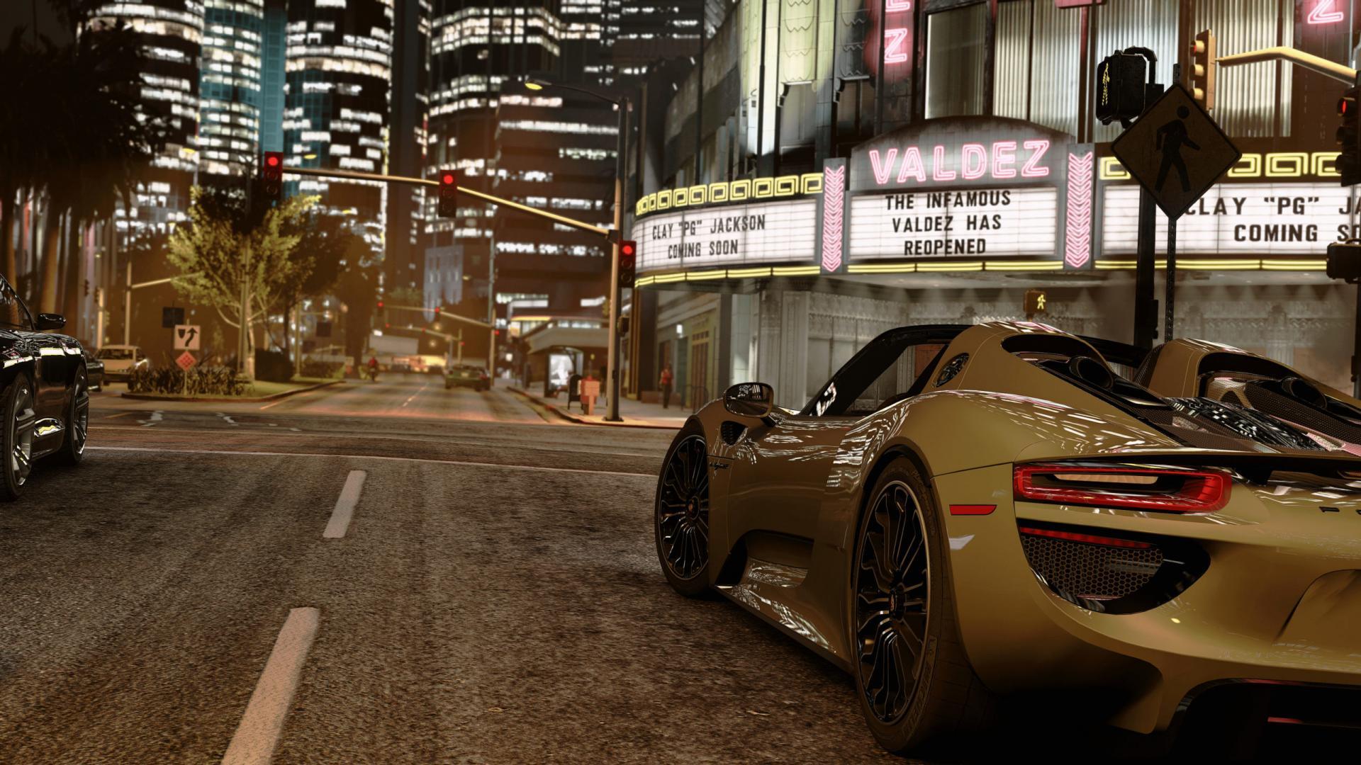 Графику GTA 5 вывели нановый уровень. Игру показали в4К истрассировкой лучей