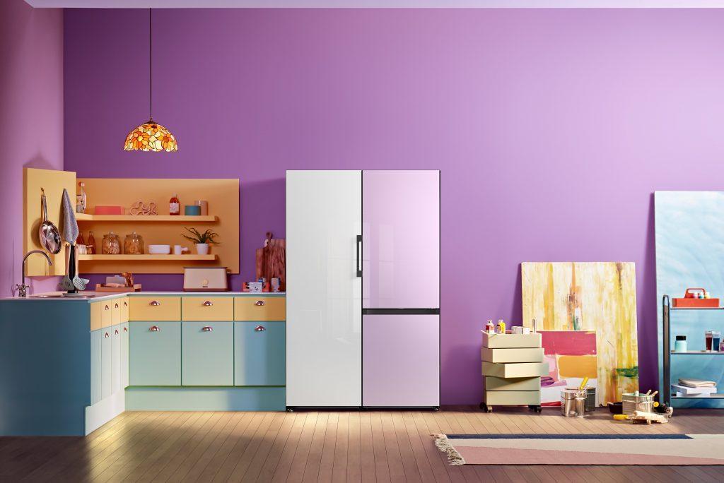 Новые модульные холодильники Samsung Bespoke уже вРоссии