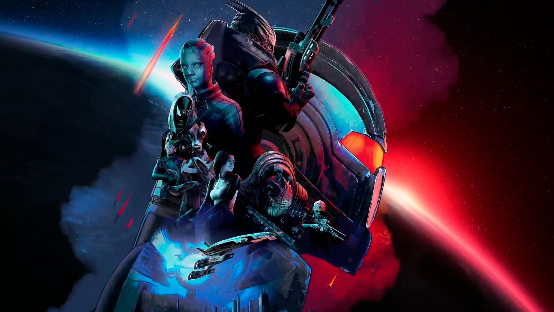 Сборник Mass Effect Legendary Edition выйдет сразу с крупным патчем