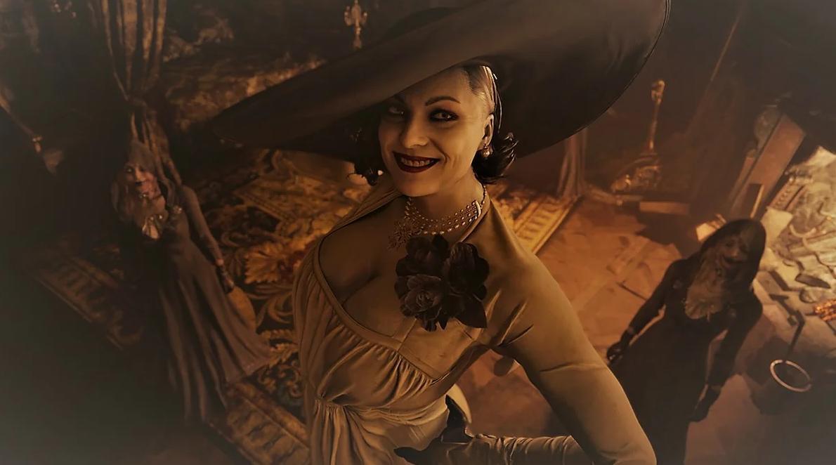 Стало известно какая актриса послужила прообразом Леди Димитреску из Resident Evil: Village