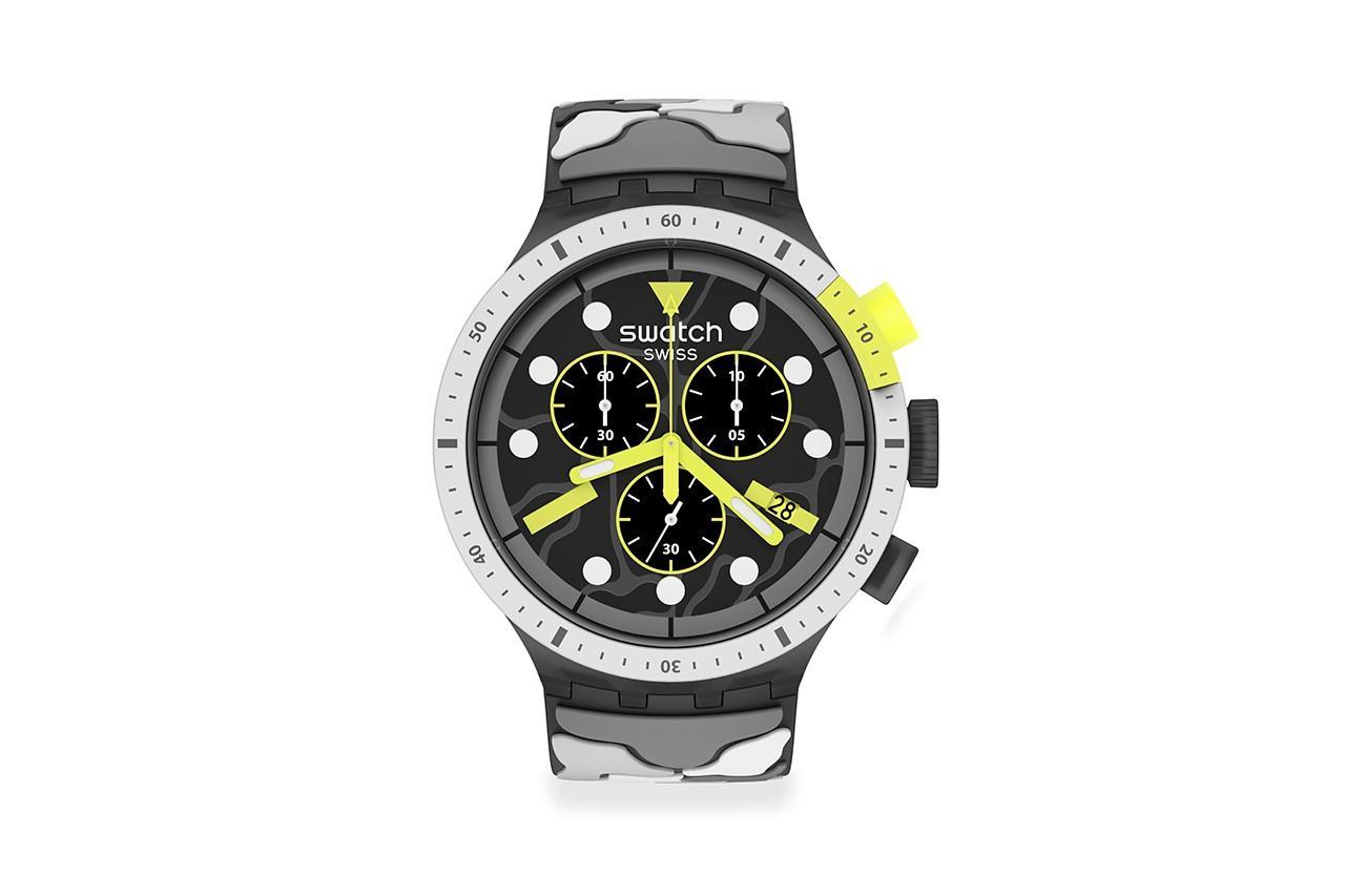 Swatch показала недорогой хронограф в4 расцветках