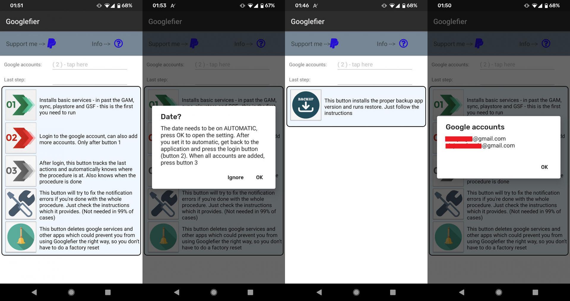 Теперь есть простой автоматизированый способ установки Google-сервисов наHUAWEI иHONOR
