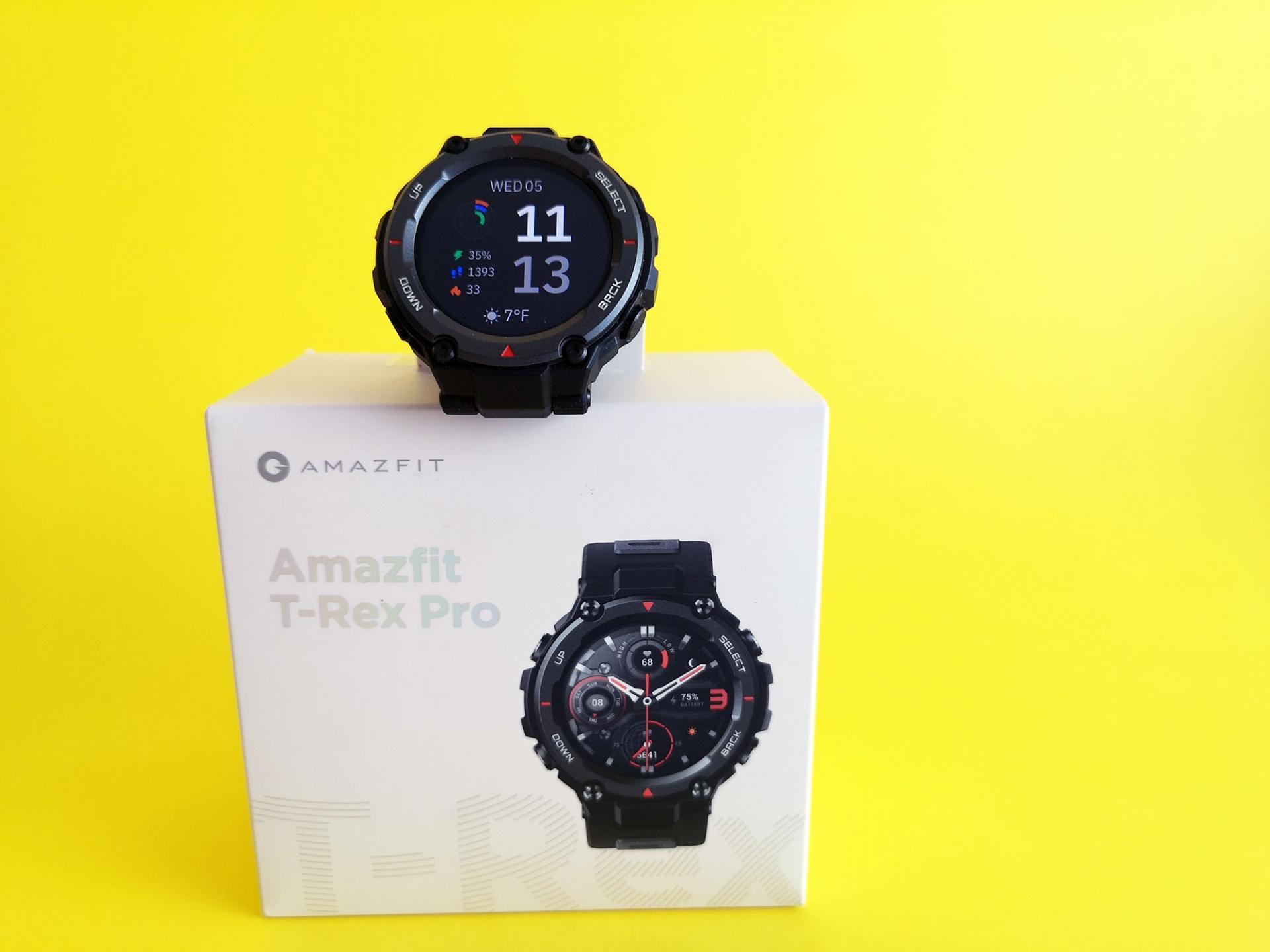 Тест-драйв умных часов Amazfit T-Rex Pro