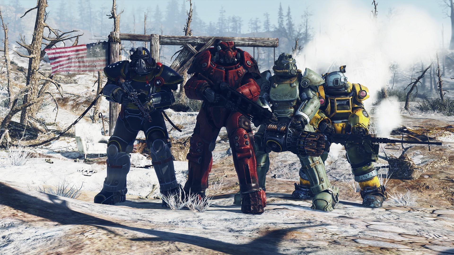 Опробуйте бесплатно Fallout 76