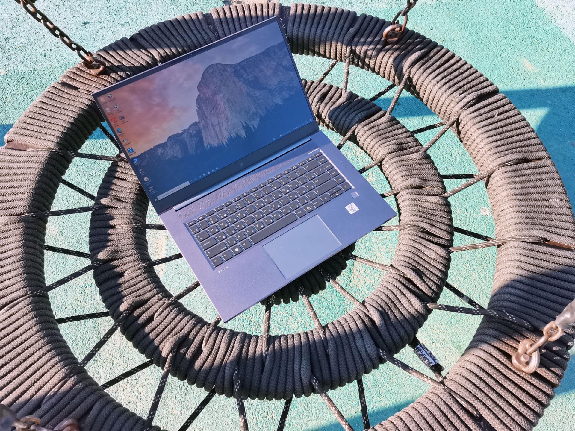 Тест-драйв ноутбука HPZbook Studio G7