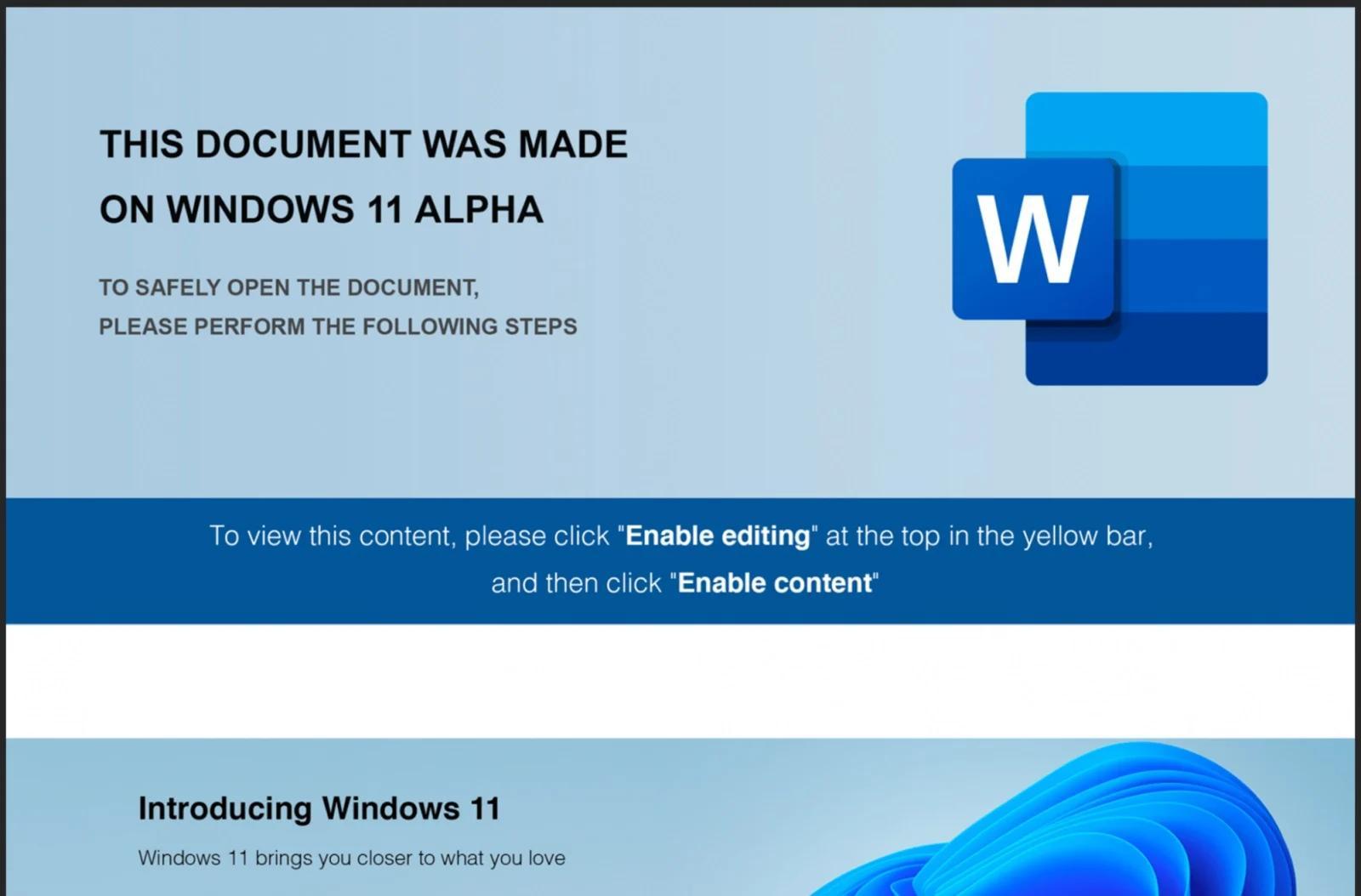Хакеры заражают ПК, используя Windows 11 вкачестве уловки