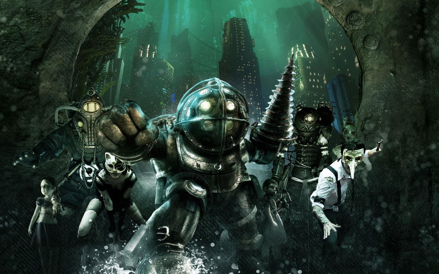 Как выгляделабы легендарная BioShock в2D. Видео