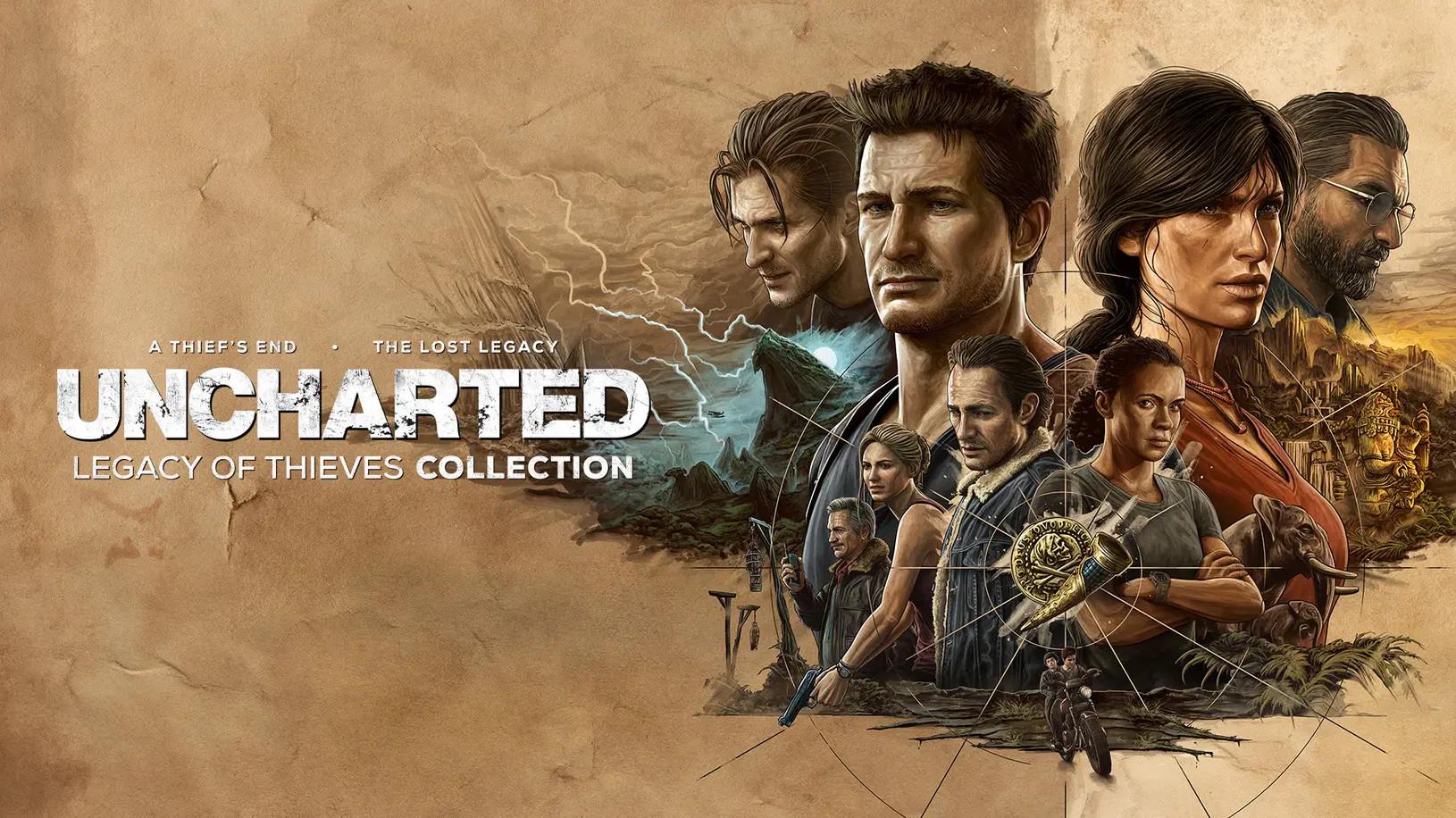 Ремастер Uncharted 4 иLost Legacy появятся наPCиPS5