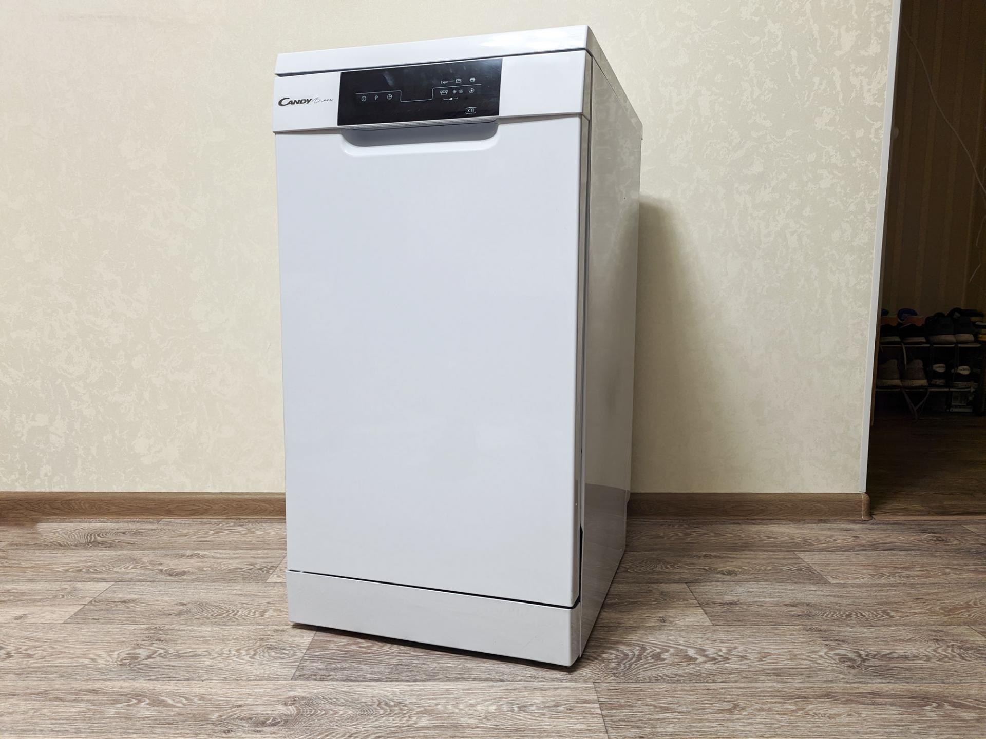 Тест-драйв посудомоечной машины Candy Brava CDPH 2D1149W-08