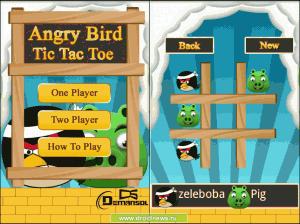 Angry Bird Tic Tac Toe