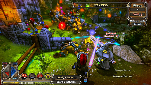 Dungeon Defenders. First Wave