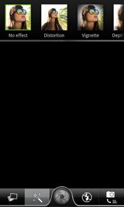 Интерфейс приложения камеры