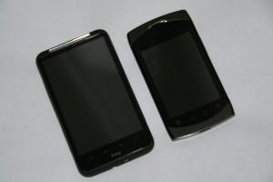 Higscreen Cosmo и HTC Desire HD