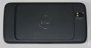 Dell Streak. Вид сзади