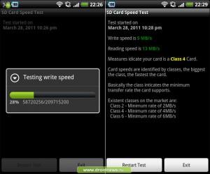 SD Card Speed Test