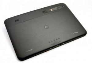 Motorola Xoom - вид сзади