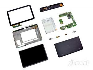 Motorola Xoom - полная разборка