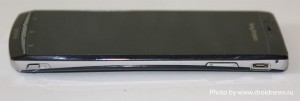 Sony Ericsson Xperia Arc - кнопка камеры, качельки громкости, micro-usb