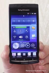 Работающий Sony Ericsson Xperia Arc