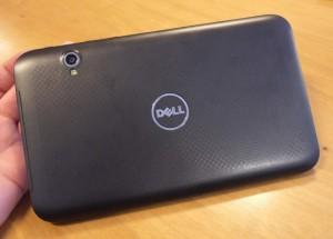 Dell Streak 7 вид сзади