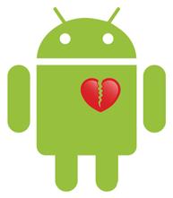 Android разбитое сердце