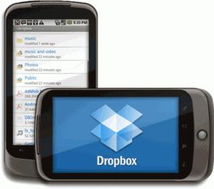 Dropbox на Android