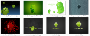 Обои для смартфона с изображением Android