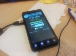 HTC EVO 3D Overclocked