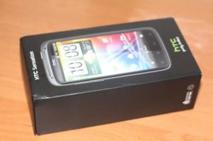 Упаковка HTC Sensation