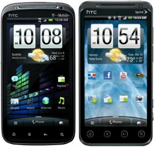 HTC Sensation & HTC Evo 3D