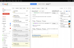 Gmail Honeycomb Style