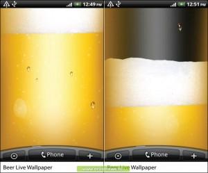 Beer Live Wallpaper HiQ