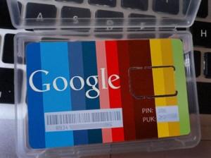 Сим-карта Google