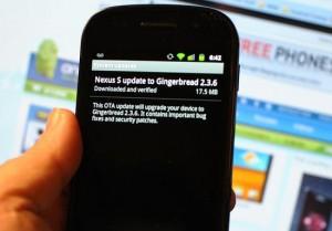 Nexus S & Android 2.3.6