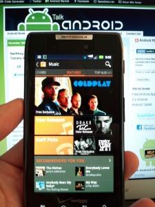Google Market Music Store