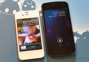Galaxy Nexus vs iPhone 4