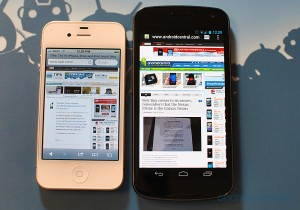 Galaxy Nexus vs iPhone