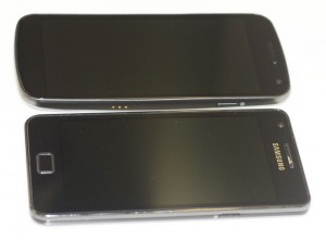 Galaxy Nexus vs Galaxy S II