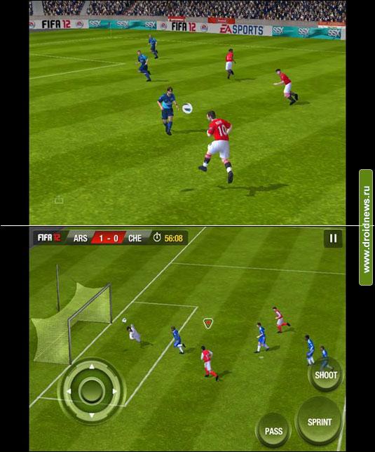 Патч, который улучшит графику в FIFA 12.