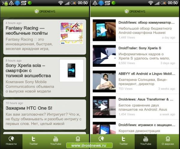 Droidnews-app