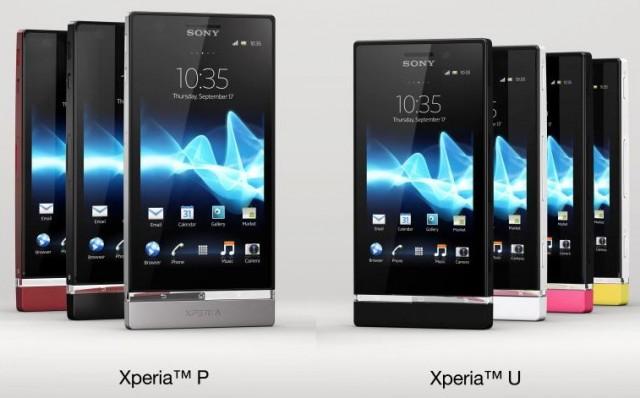 Sony Xperia P & Sony Xperia U