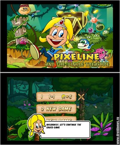 Pixeline Jungle Treasure