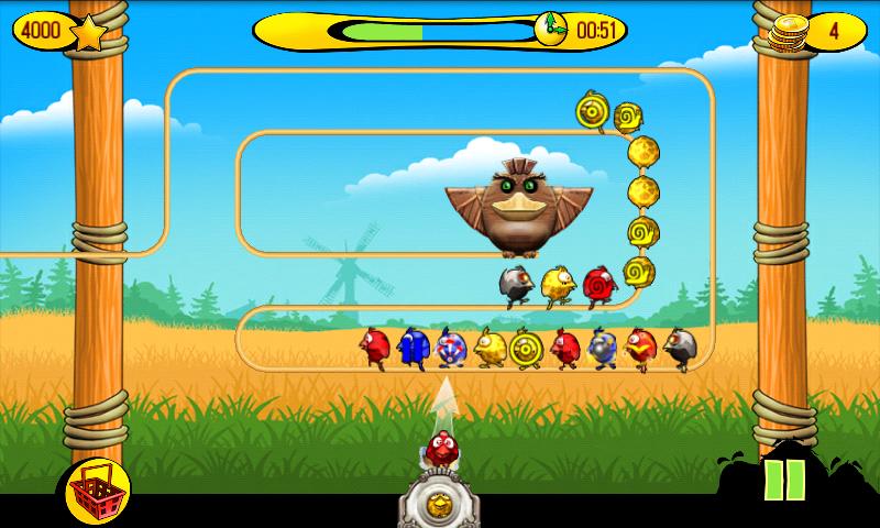 Игра на андроид: Классно поют птички, и застрял …