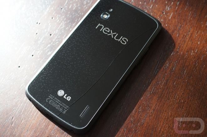 Треснувший Nexus 4