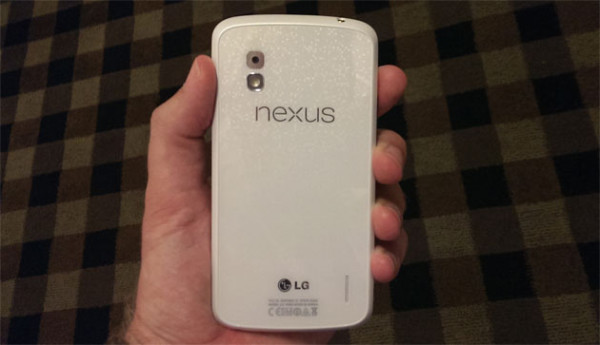 Белый Nexus 4