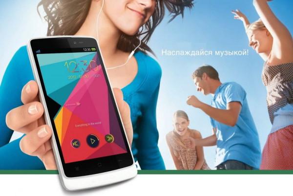 Музыкальный смартфон OPPO Clover R815