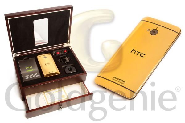 Золотой HTC One